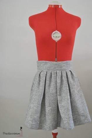 Makerist - Jupe plissée femme - 1