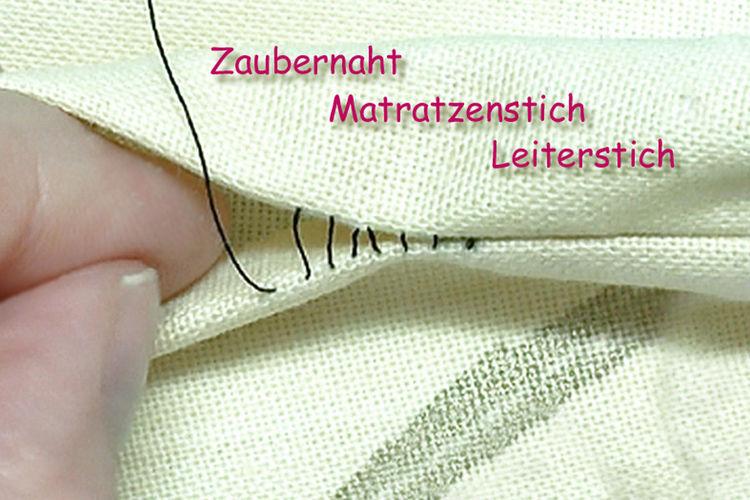 Makerist - Zaubernaht - unsichtbare Naht / Matratzenstich / Leiterstich  - DIY-Projekte - 1