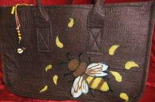 Makerist - Filztasche mit aufgefilztem Motiv - 1