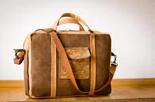 Makerist - Das braune Wunder: Laptoptasche aus Kork & Kunstleder - 1