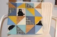 Makerist - Design Kork Award: Bärenstarkes Kissen - 1