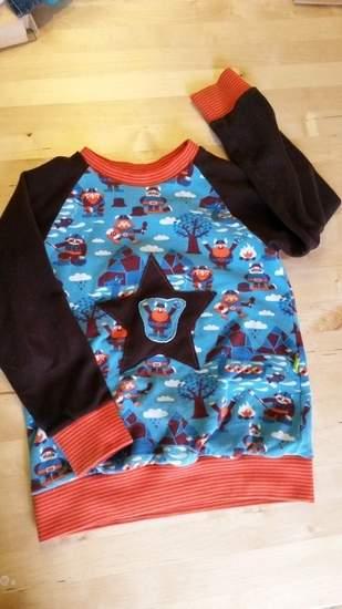 Makerist - Raglanpullover von Kid5 aus Winterjersey und Microfleece - 1