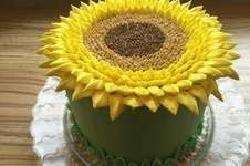 Makerist - Sunflower Cake - 1