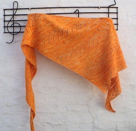 Makerist - Châle en Superwash Merino - Créations de tricot - 2