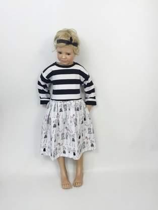 Makerist - Eine Kleidchen aus Jersey - 1