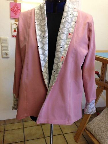 Makerist - cardigan aus sweatshirtstoff  - Nähprojekte - 1