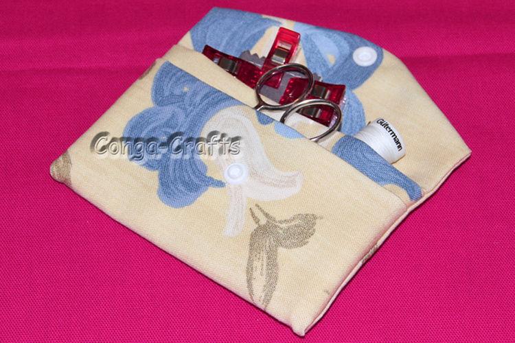 Makerist - Tasche ETTA aus einem Stück Stoff  - Nähprojekte - 1