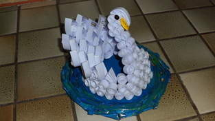 Makerist - Vannerie Cygne en Quilling - Paperolle - 1