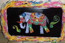 Makerist - Vannerie Elephant en Quilling - Paperolle - 1