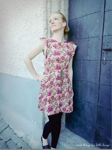 """Makerist - Mein neues Kleid """"CLYDE"""" - Nähprojekte - 1"""