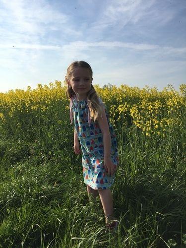 Makerist - Sommer - kleid - kids - Nähprojekte - 2
