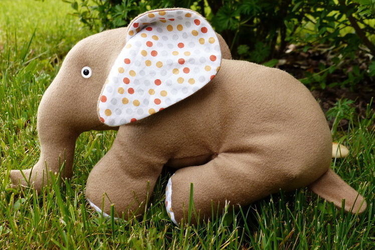 Makerist - Peluche Elephant - Créations de couture - 1
