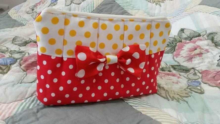 Makerist - kleine Tasche für Punkte Liebhaber  - Nähprojekte - 1