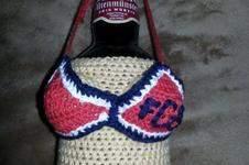 """Makerist - Bierflaschen-Stulpe """"Bayerns nackte Frau"""" - 1"""