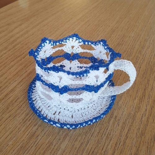Makerist - Kaffeetasse - Häkelprojekte - 1