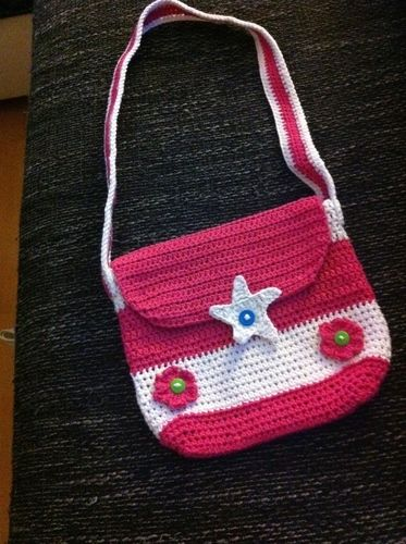 Makerist - Umhängetasche für kleine Mädchen - Häkelprojekte - 1