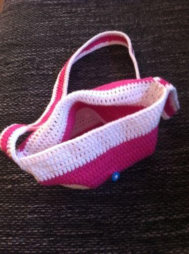 Makerist - Umhängetasche für kleine Mädchen - Häkelprojekte - 2