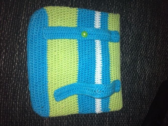 Makerist - kleine Tasche für den Fahrradlenker - Häkelprojekte - 3