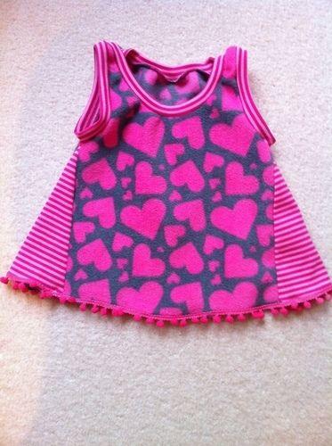 Makerist - Babykleidchen aus Fleece für meine Enkelin - Nähprojekte - 1