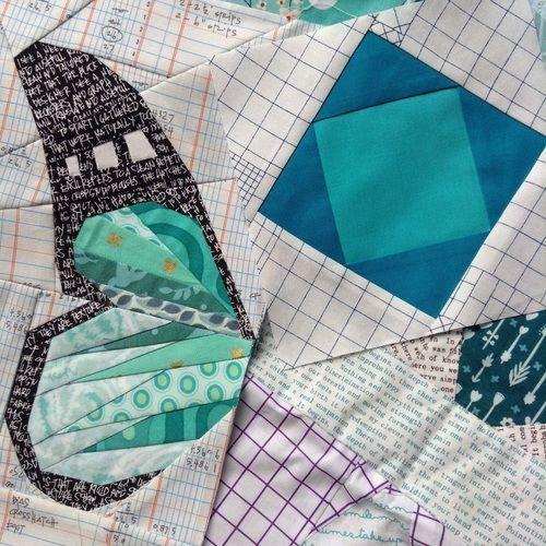 Makerist - Schmetterling - Nähen auf Papier - Patchwork-Projekte - 2
