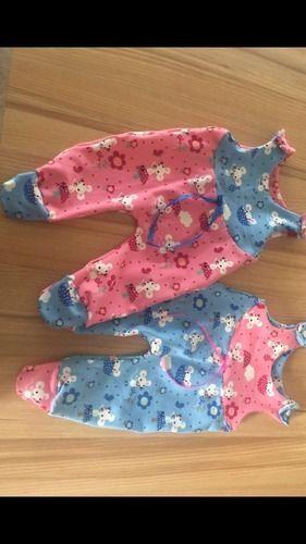 Makerist - Strampler aus Jersey für Zwillinge  - Nähprojekte - 1