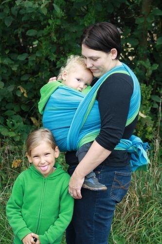 Makerist - Handgewebtes Baby Tragetuch - DIY-Projekte - 1