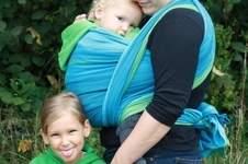 Makerist - Handgewebtes Baby Tragetuch - 1