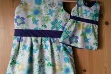 Makerist - Knoopkleed für zwei - Partnerlook mit der Puppe - 1