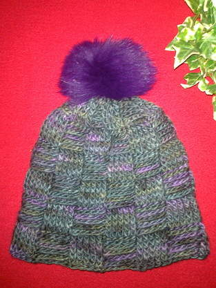 Makerist - Basketweave Beanie - 1