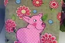 Makerist - Glücksschwein aus Filz Oder  Stoff - 1