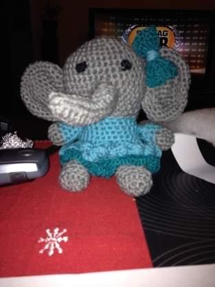 Makerist - Häkeltier Fee Elefantina - 1
