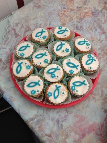 Makerist - dekorierte Cupcakes zur Konfirmation - Torten, Cake Pops und Cupcakes - 3