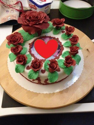 Makerist - Torte zum 10. Hochzeitstag  - Torten, Cake Pops und Cupcakes - 1