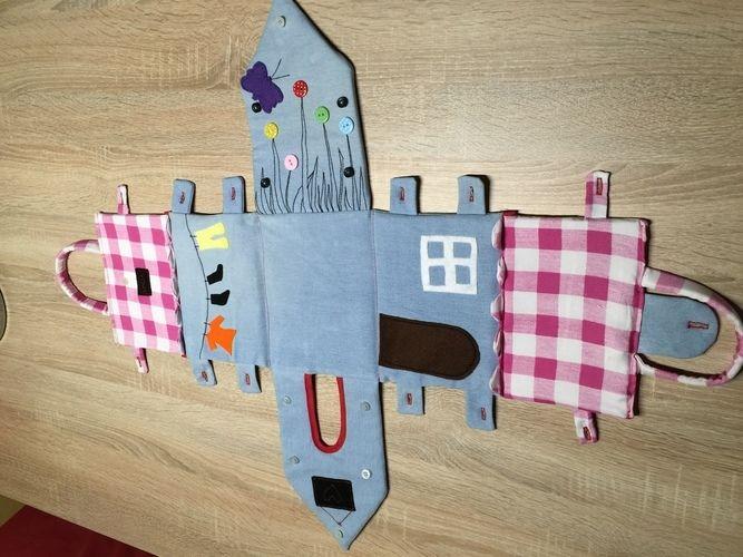 Makerist - Spielhäusschen, für meine Nichte. - Nähprojekte - 3