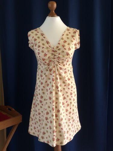 """Makerist - Kleid mit Raffung aus Baumwolljersey für meine Tochter  aus dem Anleitunsvideo """" ein Kleid 4 Styles"""" - Nähprojekte - 1"""