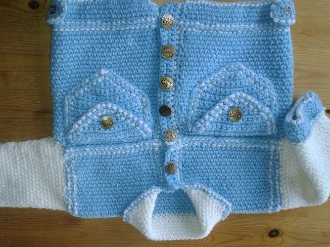 Makerist - Jeansanzug für große Jungs zum verschenken - Häkelprojekte - 1