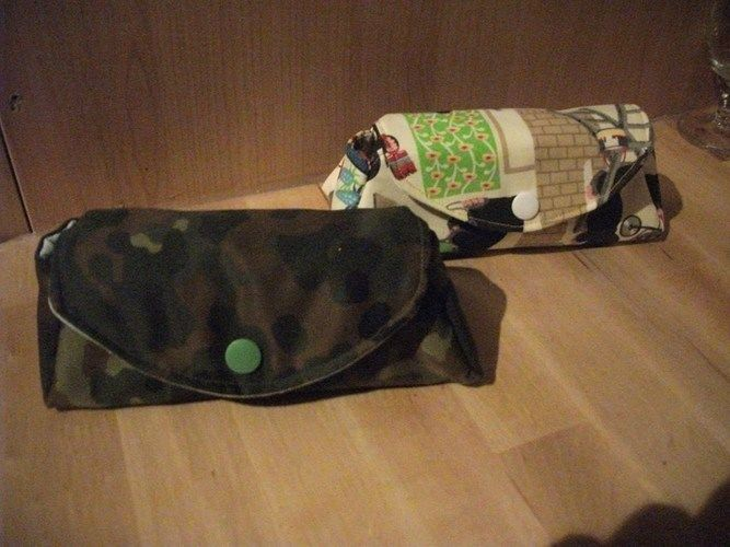 """Makerist - Tasche """"Alle 7 Sachen"""" , Baumwollstoff, Für meine mama und mein mann  - Nähprojekte - 1"""