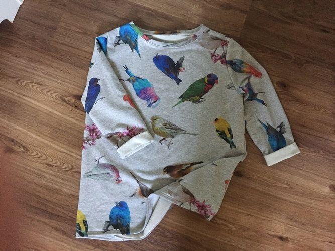 Makerist - Vogelpullover - Nähprojekte - 1