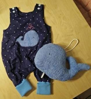 """Makerist - Ein Set mit Walfisch """"Walter"""" für die kleine Johanna - 1"""