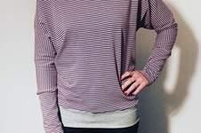 Makerist - Lieblingsshirt aus Jersey für mich selbst und auch einmal für meine Mama genäht, als kleines Geschenk :-)  - 1