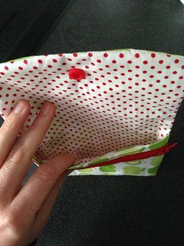 Makerist - Ruck-Zuck Geldbörse aus Baumwolle für mich selbst - Nähprojekte - 3