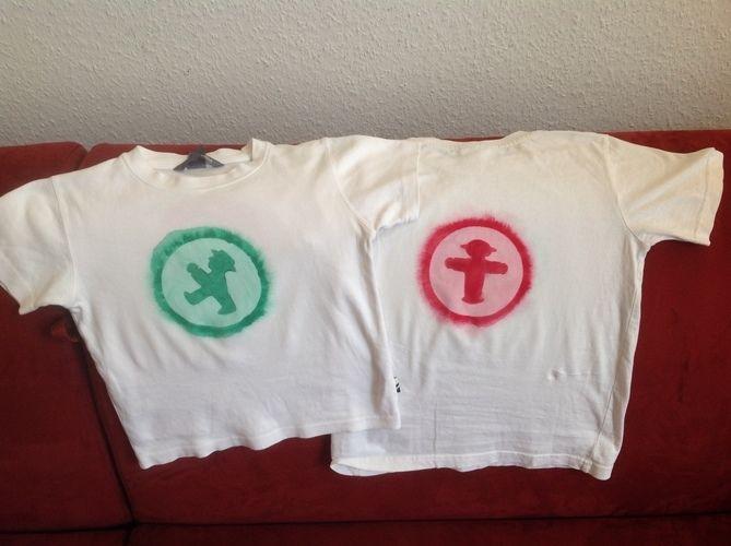 Makerist - Kartoffeldruck- Ampelmännchen - Tshirt mit Pinselkreis und Wasserwischiwaschi für meine Jungs - DIY-Projekte - 1
