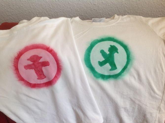 Makerist - Kartoffeldruck- Ampelmännchen - Tshirt mit Pinselkreis und Wasserwischiwaschi für meine Jungs - DIY-Projekte - 2