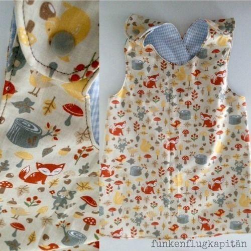 Makerist - Schürzenkleidchen aus Baumwolle - Nähprojekte - 2