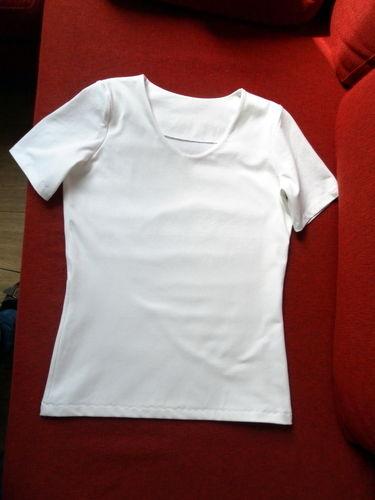 Makerist - DAS weiße T-Shirt - Nähprojekte - 1
