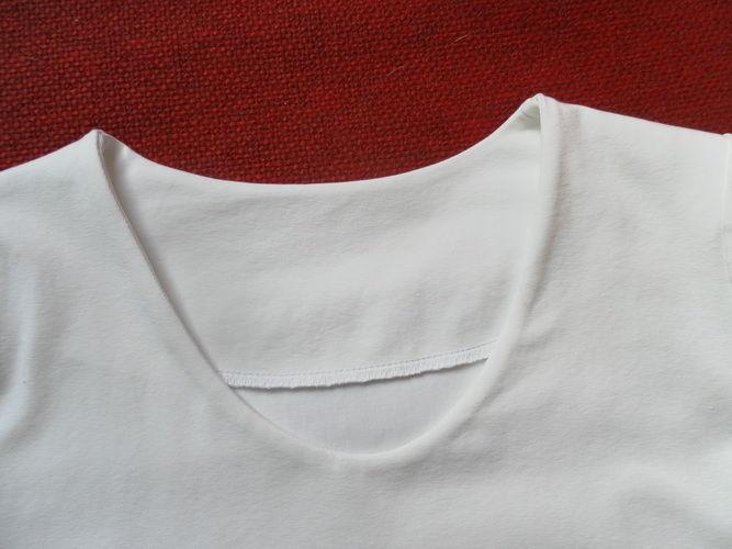 Makerist - DAS weiße T-Shirt - Nähprojekte - 2