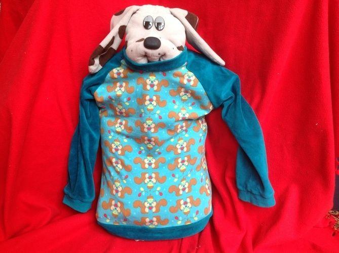 Makerist - Bethioua Shirt für kleine Jungs und Eichhörnchenliebhaber nach Elleplus - Nähprojekte - 1