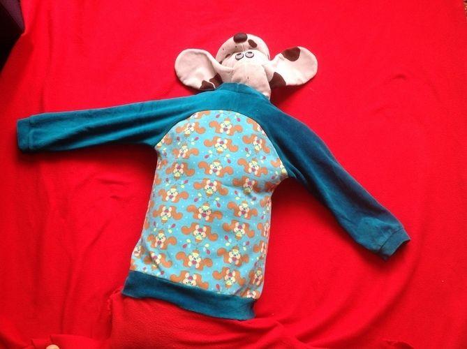 Makerist - Bethioua Shirt für kleine Jungs und Eichhörnchenliebhaber nach Elleplus - Nähprojekte - 2