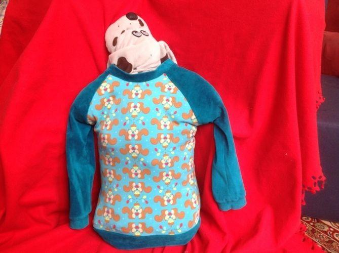 Makerist - Bethioua Shirt für kleine Jungs und Eichhörnchenliebhaber nach Elleplus - Nähprojekte - 3