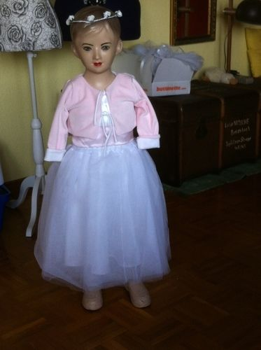 Makerist - Blumenmädchenkleid  zur Hochzeit unserer Tochter  für unsere Enkeltöchter - Nähprojekte - 3